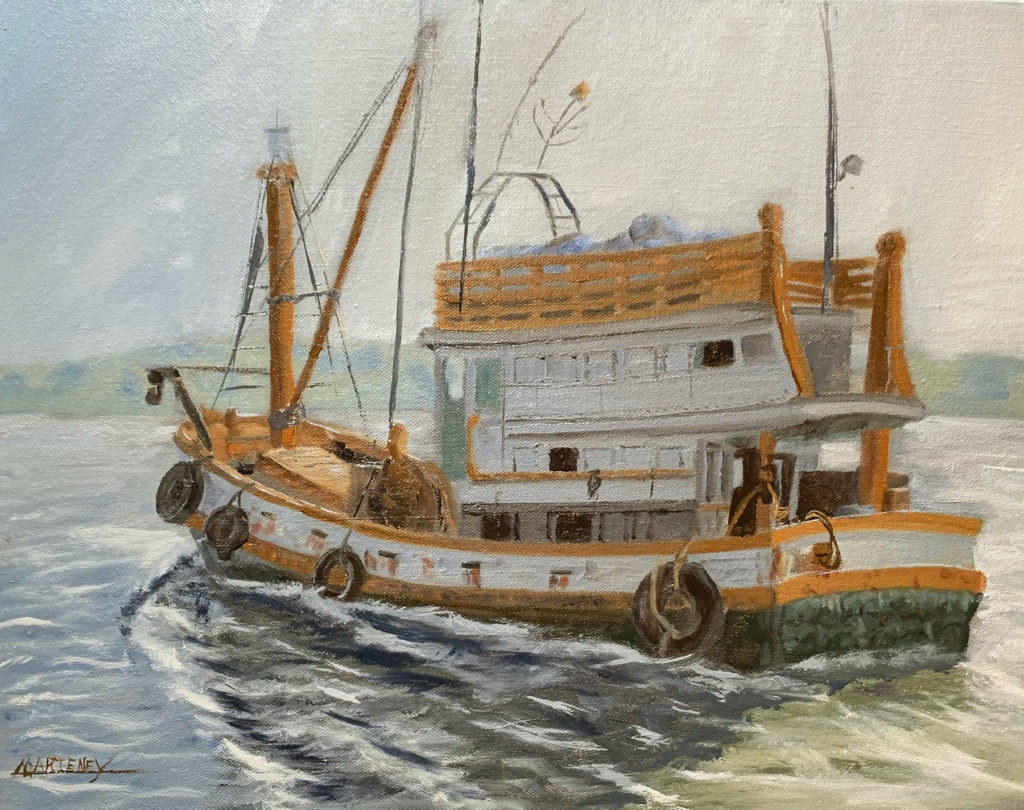 """</br><p align=""""left""""><strong><em>Boat Study</em></strong></br> 14 x 18""""</br> Oil paint on canvas</br> $300</br> <strong><a href=""""https://checkout.square.site/buy/X7RXDVBID67D3OMGECUATYOK"""">PURCHASE</a></strong></p><br>"""
