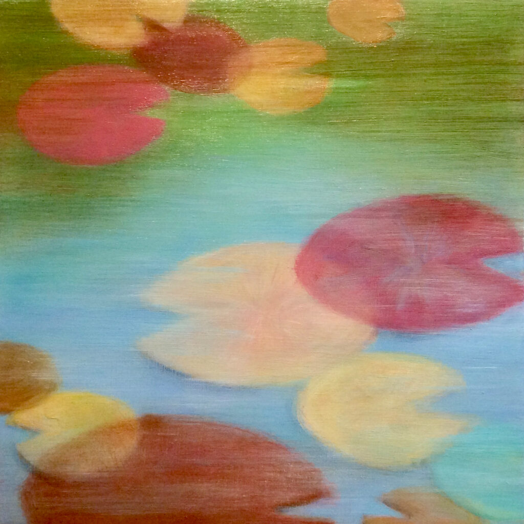 Floating Colors No 2 16x16""
